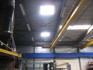lichtkoepel ecosol suntracker in werking